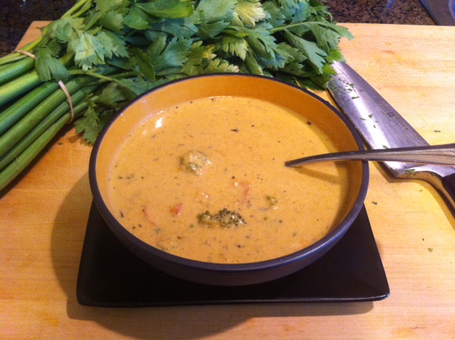 Vegan Cream of Vegetable Soup